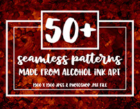 Seamless Alcohol Ink Patterns