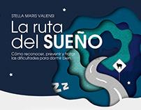 """""""La ruta del sueño"""" · Editorial Design"""