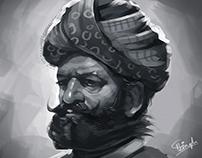 Random King Portrait