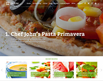 Cooking Blog WordPress theme