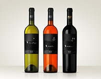 Wine label and packaging for Egri Csillagok Winery