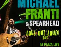 Michael Franti Tour Announcement