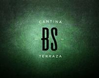BlackStone Cantina, Logo & ID.  CDMX