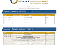 The Annual ASAP Global Alliance Summit