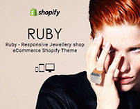 Ruby Responsive Jewellery shop eCommerce Shopify Theme