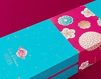 La Fleur Mooncake Packaging