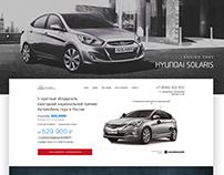 Landing Page - Hyundai Solaris