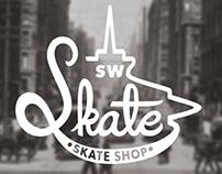 SW Skate skate shop | branding