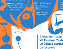 "Festiwal Teatrów Amatorskich ""Wózek Tespisa"""