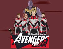 Infografía Avengers