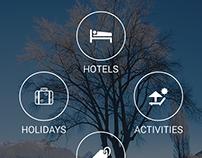 Book Hotel App Design Concept