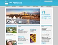 Santa Monica College Website