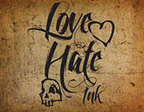 Love Hate Ink Logo