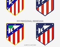 Atlético de Madrid Badge Redesign