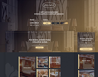 Website for furniture company