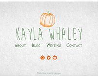 Kayla Whaley Website