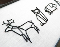 Des Animaux: Handmade Embroidery