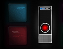 2001: A Space Odyssey (Game UI Concept)