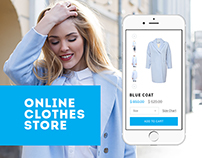 Adaptive online clothing store