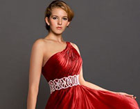Red prom dresses/Robes de soirée rouge