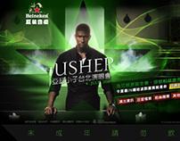 2010 Heineken Present USHER