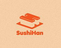SushiHan Visual Identity