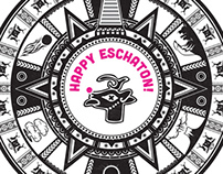 Happy Eschaton! Holiday Card