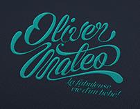 Oliver Mateo Lettering
