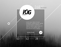 FOG (coming soon template)