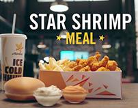 Hardee's Star Shrimp Meal TV Commercial