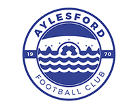 Aylesford Football Club Crest/Badge Redesign