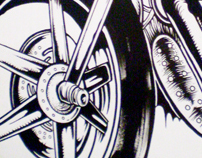 Moto Wall painting