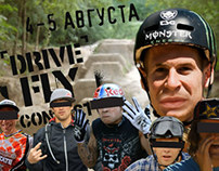 DRIVE & FLY (mtb bmx contest) promovideo.