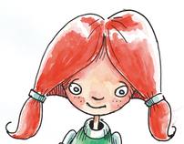 Children's book illustrations - 2010