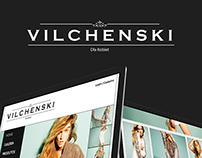 Vilchenski Website Layout