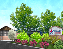 Self Storage Renderings - Ecorse