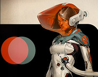Space suit designs series