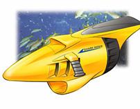 Dive Scooter - Underwater Propulsion
