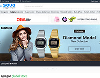 CASIO Web Banar for Souq.com