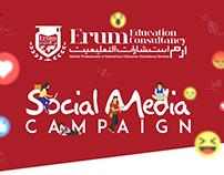 Erum Education Consultancy Social Media