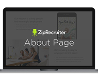 ZipRecruiter // Landing Pages