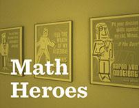 Math Hero's posters