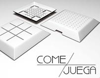 Come + Juega