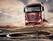 Mercedes-Benz Kamyon Lansman İlanları