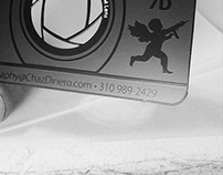 Cutout Stainless Steel Business Card