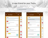 Trello Activity of Selected List