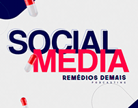 Social Media - Remédios Demais