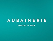 Aubainerie Fall/Winter TV commercial and re-branding