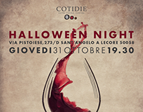 Cotidie's Halloween Night Project