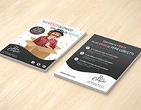 "Flyer | Pepa Confetti ""Fiestas infantiles"""